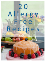 Sign up 20 Allergy free FREE recipes